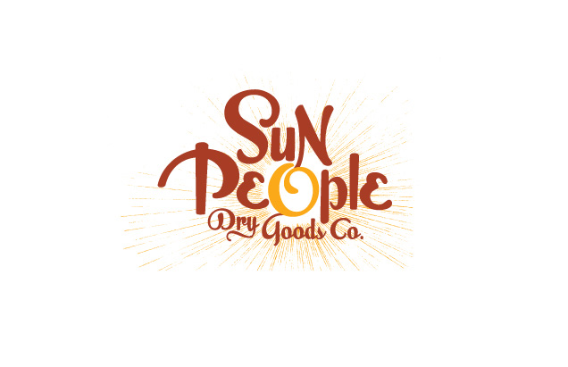 Sun People Dry Goods Co. Logo